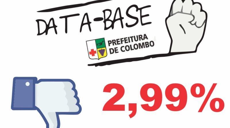 Saiu! Data Base 2017 da Prefeitura de Colombo